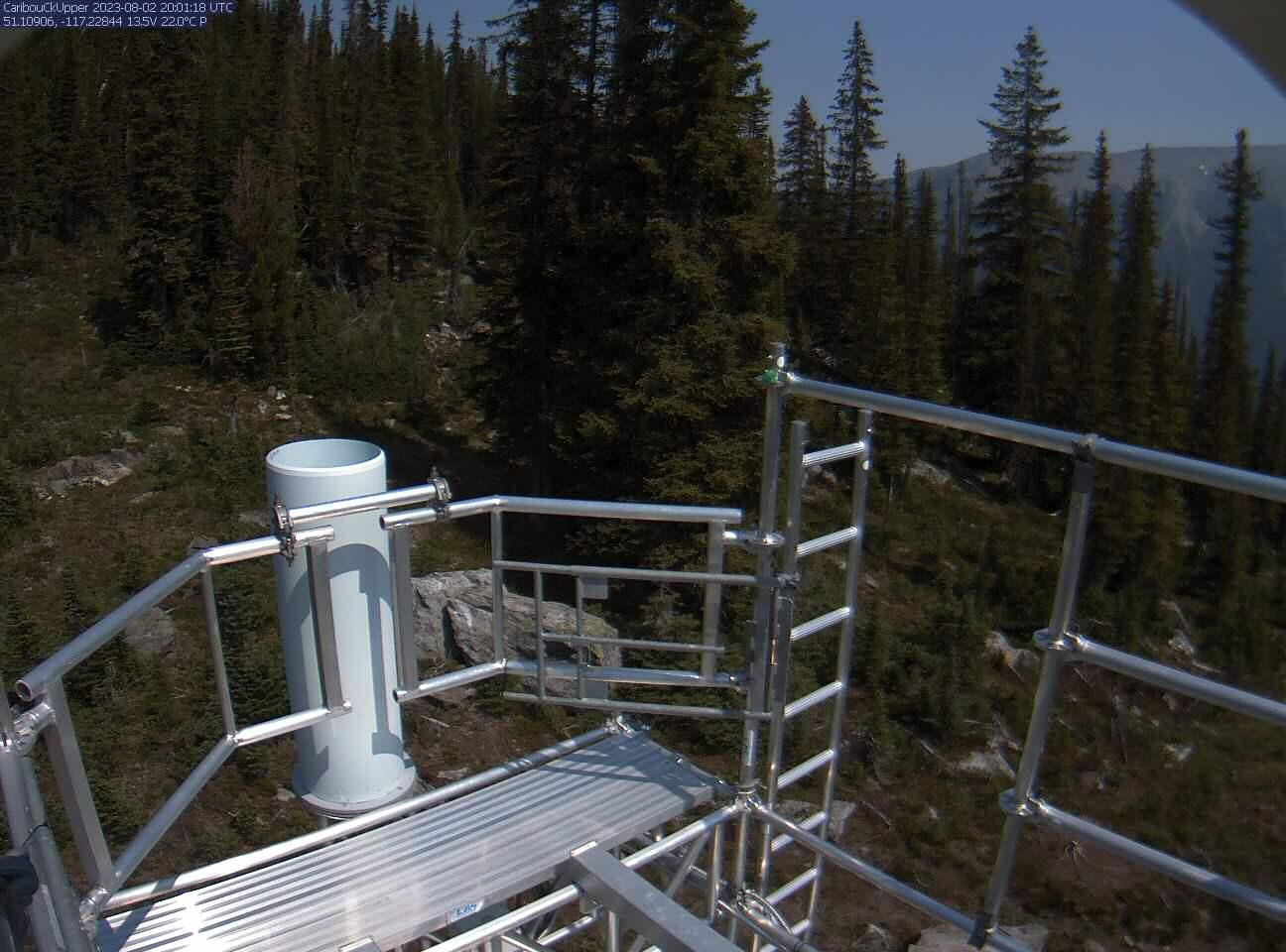 Caribou Creek Snow Satellite Camera