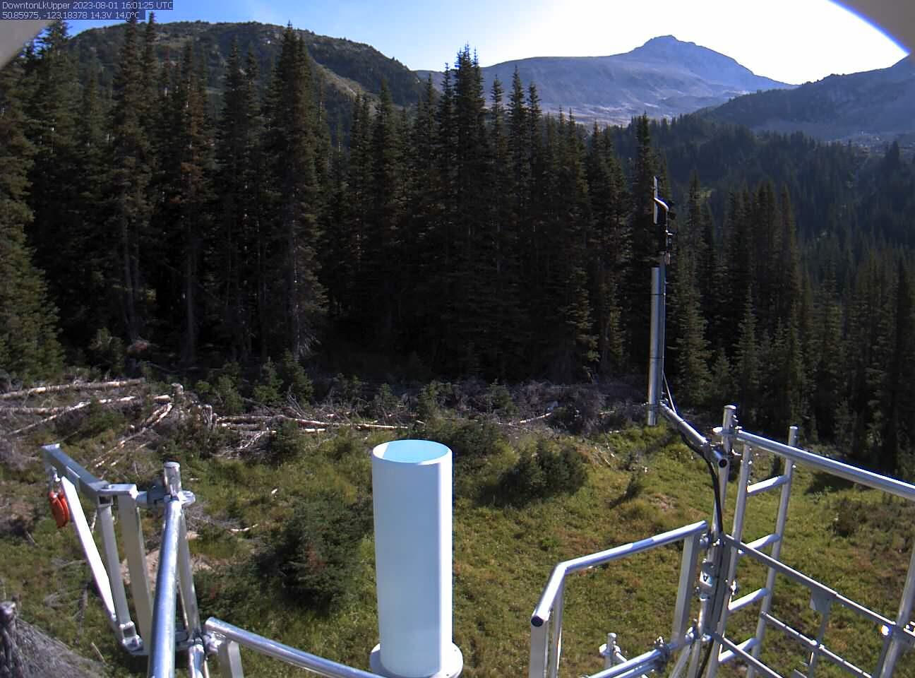 Downton Lake Upper Snow Satellite Camera