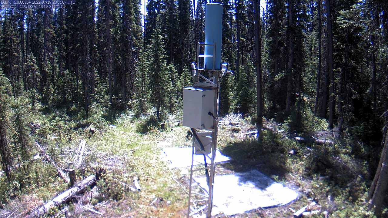 Greyback Reservoir (2F08P)  Snow Camera