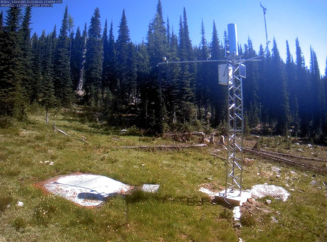 Redfish Creek (2D14P) - Snow Camera
