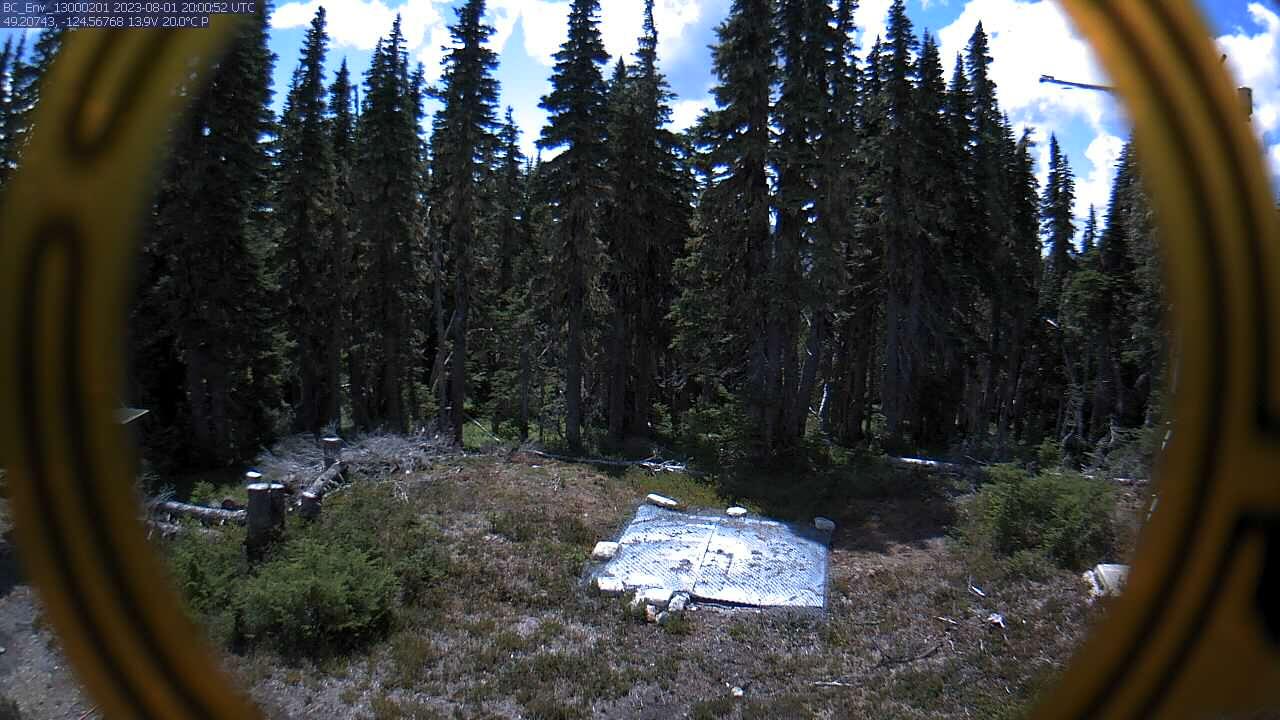 Mount Arrowsmith (3B26P) - Snow Camera
